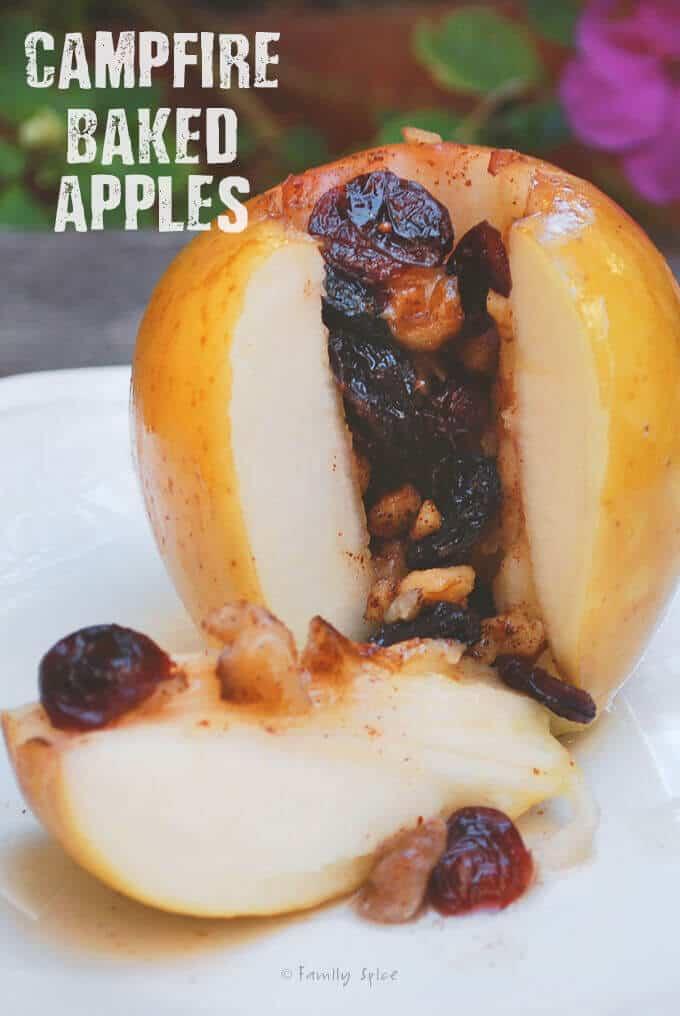 Campfire Baked Apples {Gluten-Free}
