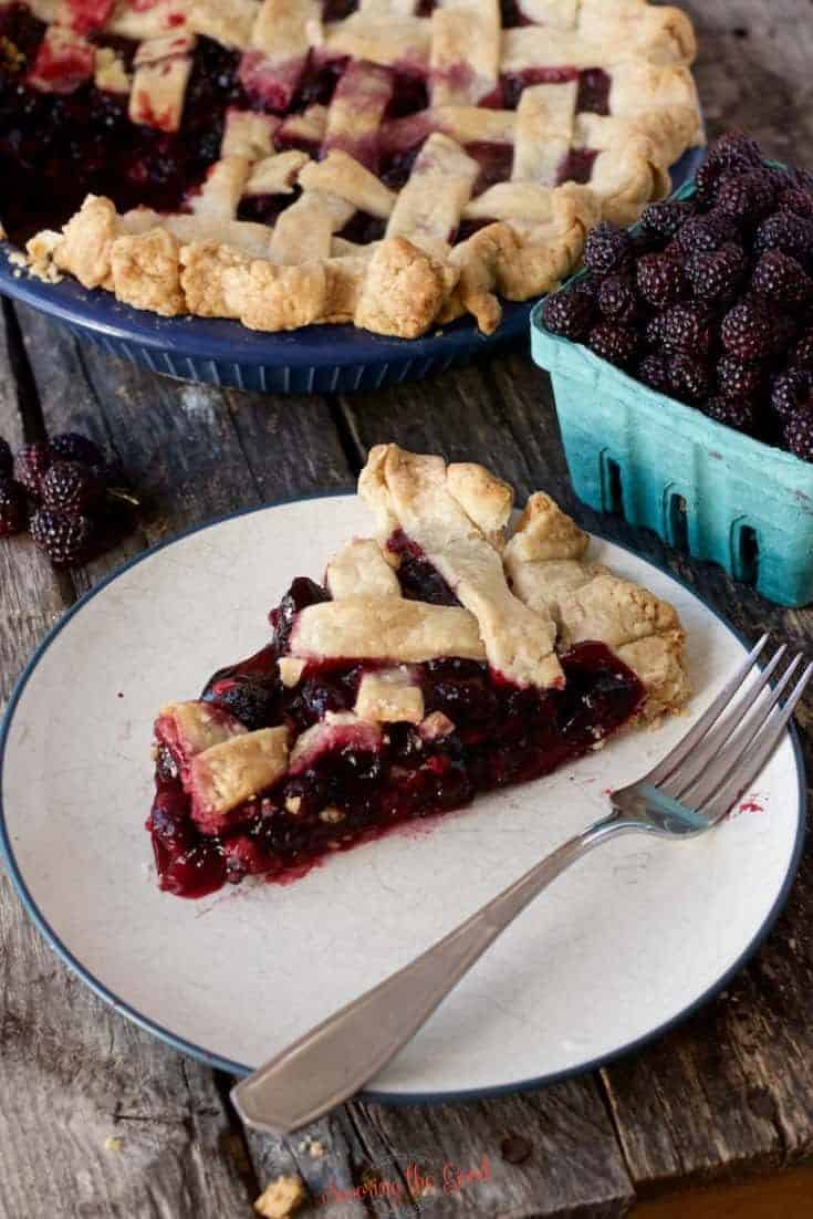 Black Raspberry Pie Recipe