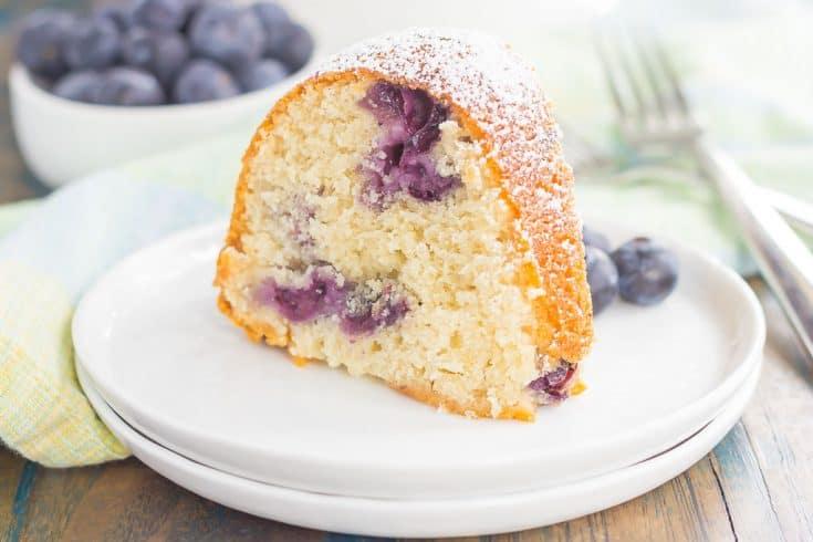Blueberry Yogurt Cake {Plus a Video!}