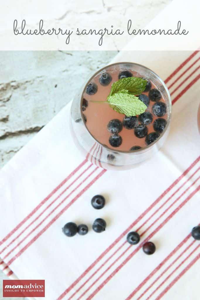 Blueberry Sangria Lemonade