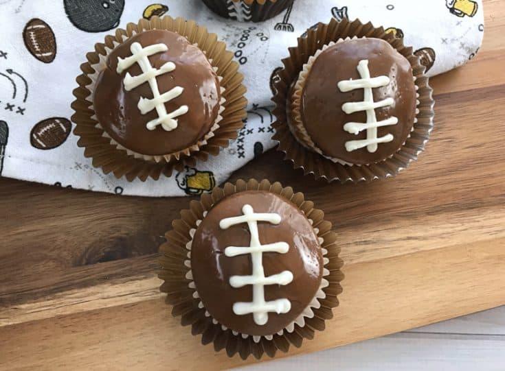 Easy & Fun Football Cupcakes