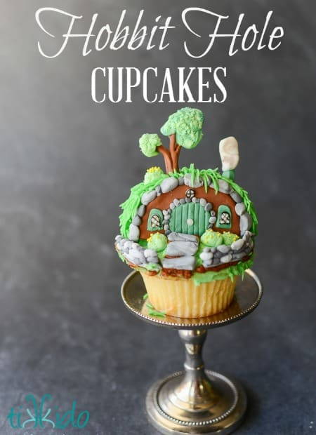 Hobbit Hole Shire Cupcakes Tutorial