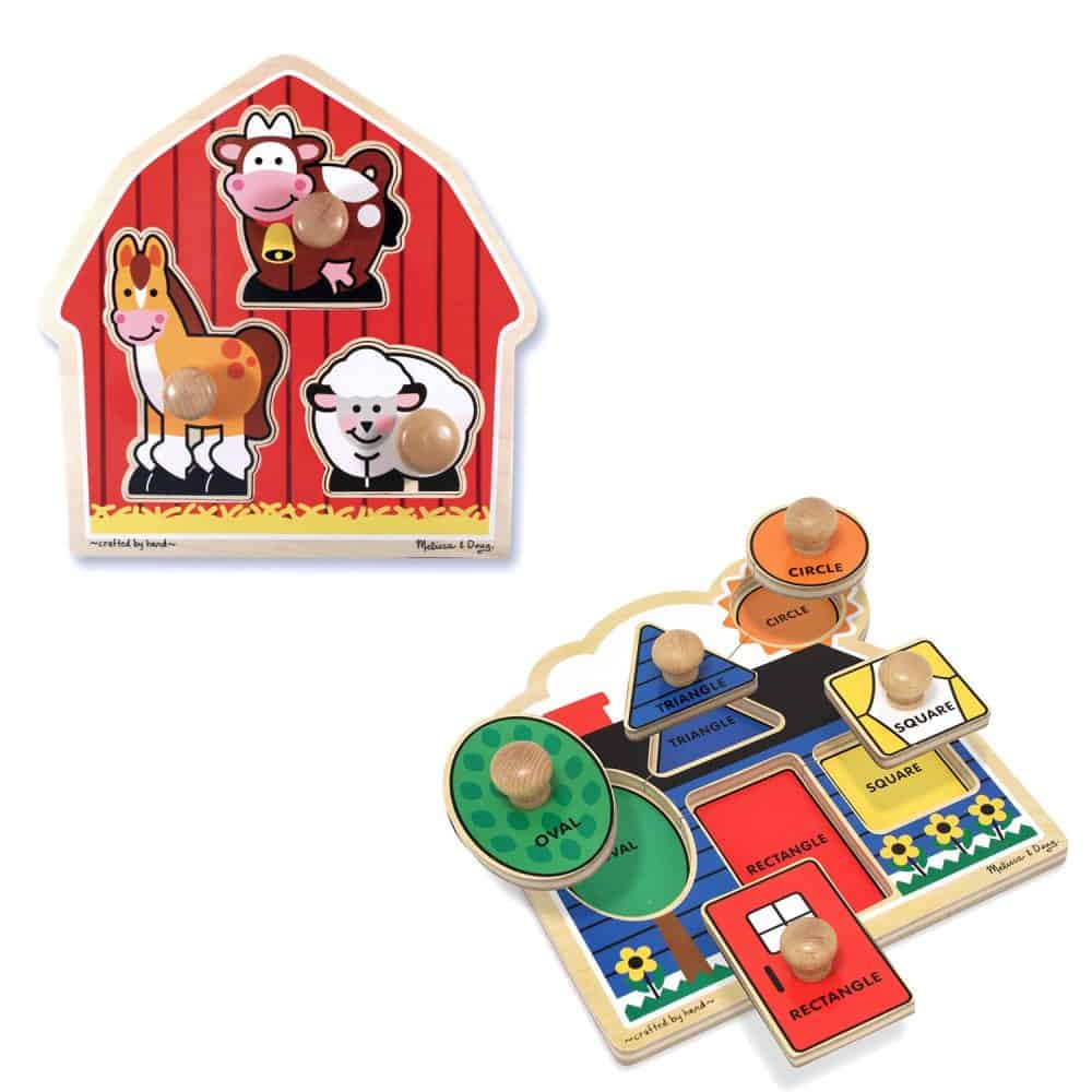 Wooden Puzzles are the best gifts for 1 year old kids