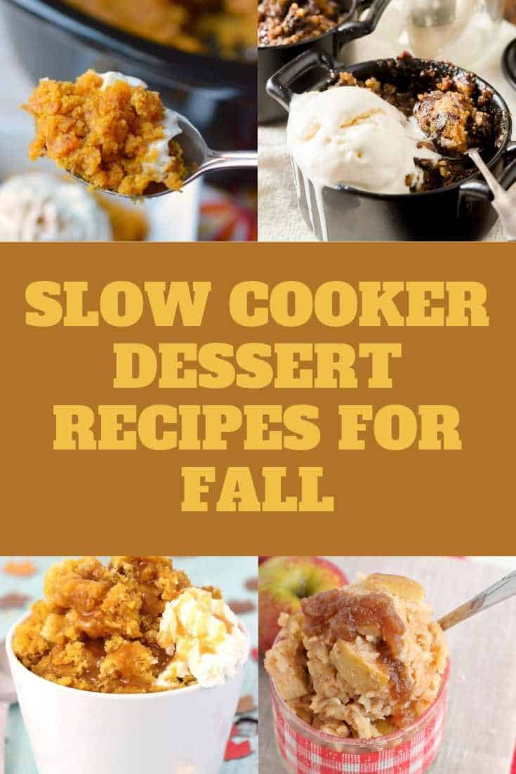 slow cooker dessert recipes for Fall
