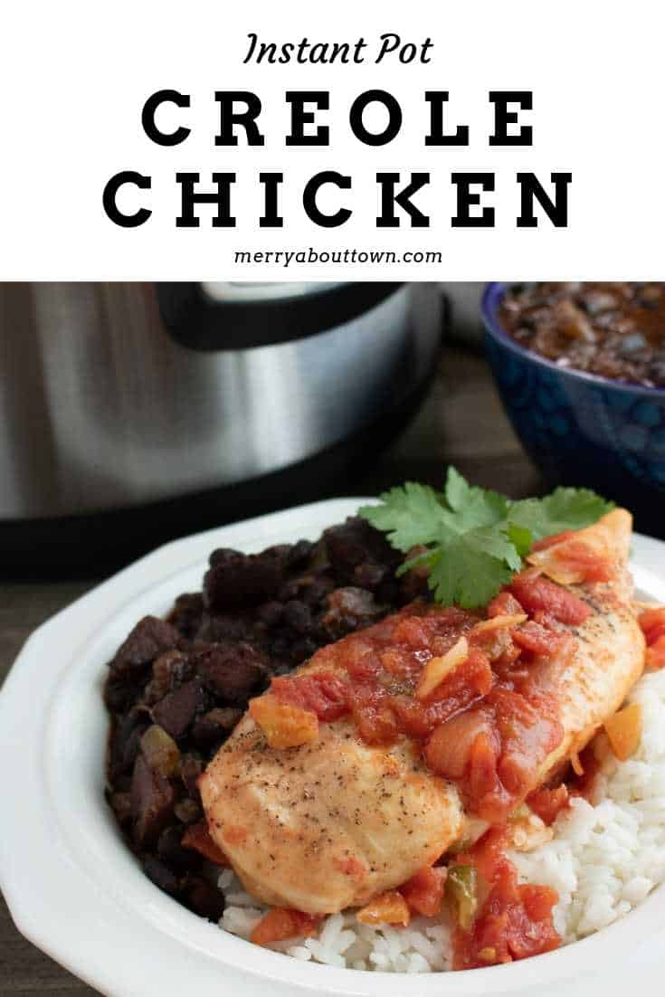 Instant Pot Creole Chicken