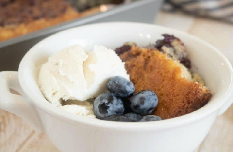 blueberry cobbler dessert recipe