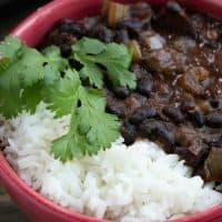 Instant Pot Creole Black Beans