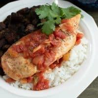 Instant Pot Creole Chicken