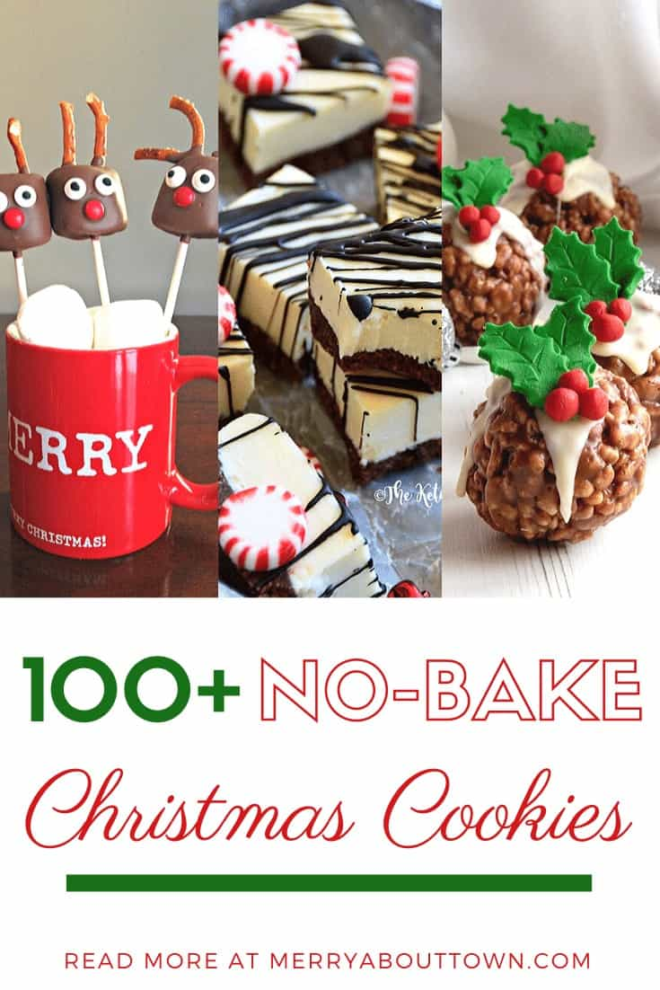 100 No-Bake Christmas Cookies