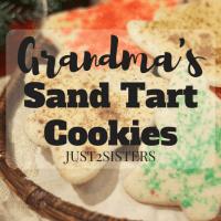 Grandma's Sand Tart Cookies