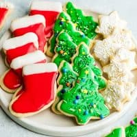 Best Cut Out Sugar Cookie Recipe with Frosting