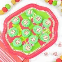 Grinch Christmas Cookies