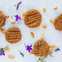 No-Bake Healthy Peanut Butter Cookies