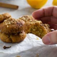 Greek Christmas honey cookies (melomakarona)