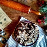 Old-Fashioned Gingerbread Cookie Recipe from 1868