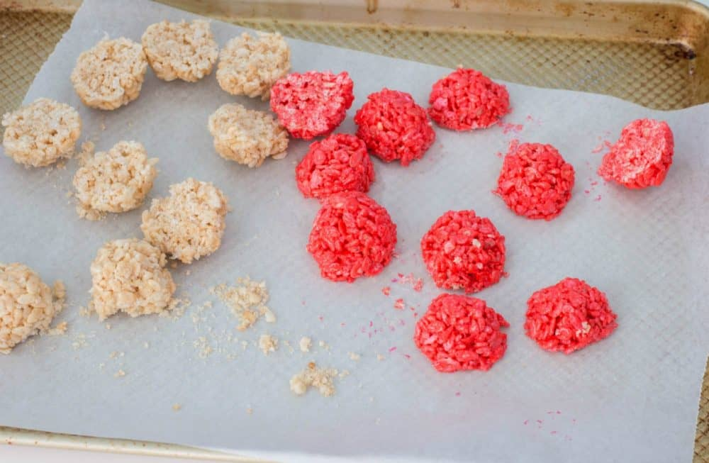 pokeball inspired cereal treats
