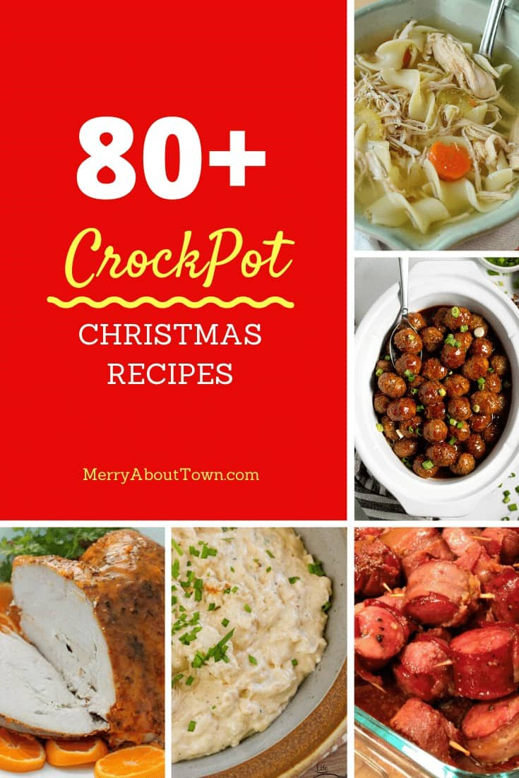 CrockPot Christmas Recipes