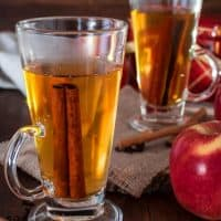 Spiced Apple Cider Made from Apple Juice (Video)