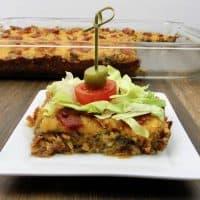 Bacon Cheeseburger Casserole - Keto/Low Carb