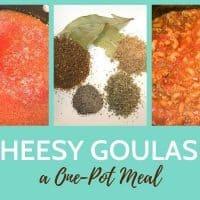 Delicious One Pot Cheesy Goulash