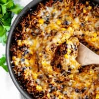 Cheesy Mexican Skillet
