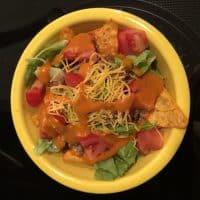 Dorito Taco Salad Recipe with French Dressing