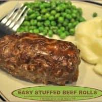 Easy Stuffed Beef Rolls