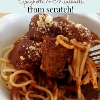 Instant Pot Spaghetti Sauce Meatballs from Scratch