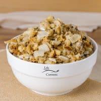 Vegetarian Crock Pot Stuffing - Life Currents