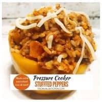 Pressure Cooker Stuffed Peppers Recipe