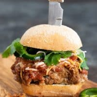 Crazy Good Southwestern Mexican Meatloaf Burgers