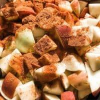 Homemade Brown Sugar Cinnamon Applesauce
