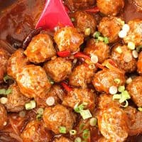 Bakso Sapi Saus Padang - Indonesian Spicy Meatballs