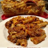 Instant Pot Ziti With Ground Beef And Cheese Recipe And IP-DUO60 Review