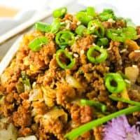 15-minute KETO Asian Beef Bowl {Paleo, GAPS, Whole30}