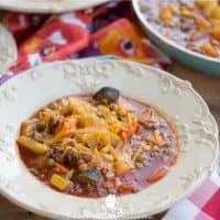 One-Pot Shepherd's Pie Soup