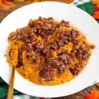 Slow Cooker Creamy Sweet Potatoes