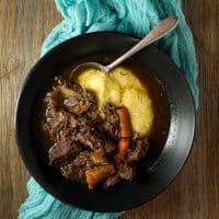 Instant Pot Red Wine Beef Stew