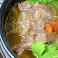 Instant Pot Filipino Oxtail Soup