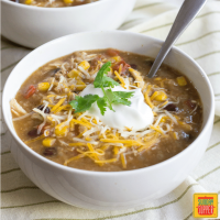 Instant Pot Mexican Chicken and Rice Soup