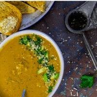 Keto Chicken Vegetable Soup