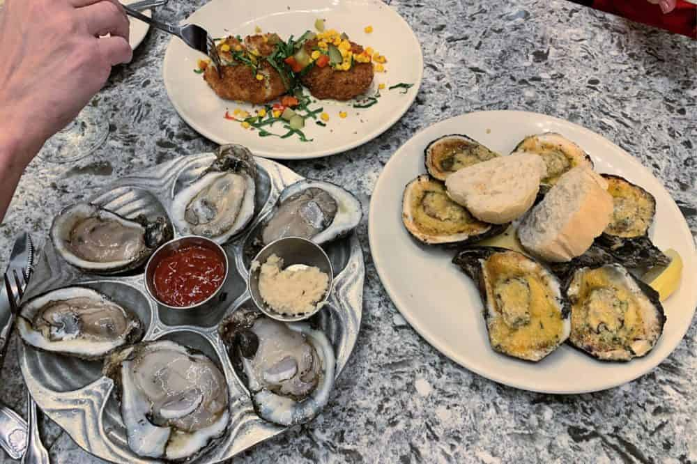 Oysters at Desire Oyster Bar