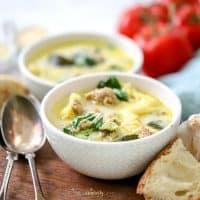 30-Minute Instant Pot Tortellini Soup
