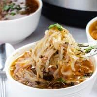Shirataki Chicken Noodle Soup