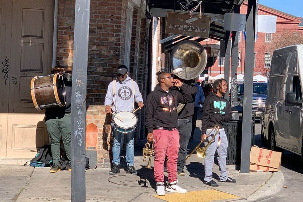 Street Music Performers in New Orleans