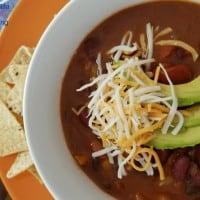 Vegetarian Weight Watchers Chili in Instant Pot