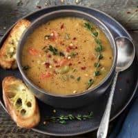Instant Pot Yellow Split Pea Soup