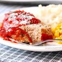 Slow Cooker Meatloaf with Sauce