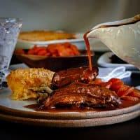 Slow Cooker Tri-Tip Steak with Fennel and Coriander Gravy