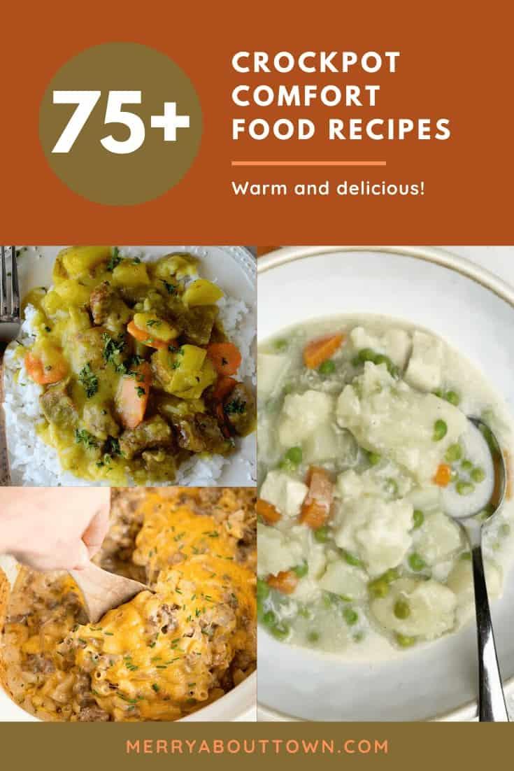 Crockpot Comfort food recipes